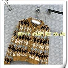 高端版【~SSEZ~】908012134 原單MAJ提花菱格羊毛圓領針織小開衫 1 2 3