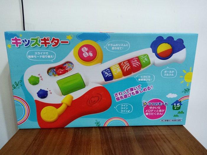 天使熊雜貨小舖~日本帶回兒童玩具~搖滾吉他  全新現貨