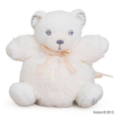 🌟正版🌟【 法國 Kaloo 】 Perle Bear 奶霜白小熊 迷你 安撫玩偶