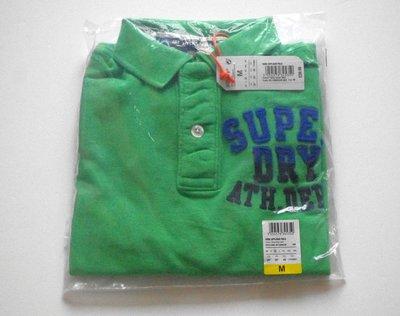 Superdry 極度乾燥  Core Applique Polo Shirt Kelly Green