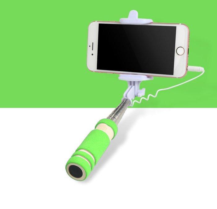 全新寶器 迷你線控自拍杆自拍神器乾 適用於蘋果6splus小米Android手機k6