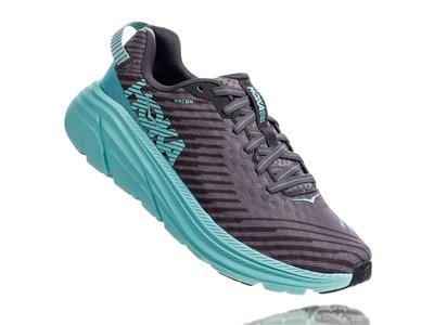 =CodE= HOKA ONE ONE RINCON 透氣網布慢跑鞋(灰湖水綠)1102875CGAS 蒂芬妮 路跑 女