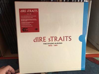 現貨發燒黑膠 恐怖海峽 Dire Straits 錄音室6專輯  8LP 黑膠唱片