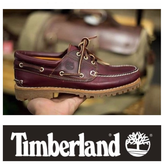 Timberland HERITAGE NOREEN 3-EYE HANDSEWN SHOES 三眼雷根鞋 帆船鞋 現貨
