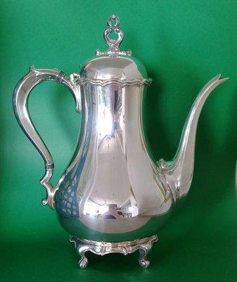 265 巨大高級英國鍍銀壺Antique Silver Plate Tea Pot (Reed & Barton )