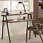 桌子簡約現代美式家具書桌loft電腦台式桌家...
