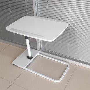 雙十一狂歡購 家床上筆記本電腦桌超低底座床邊桌超大桌面可升降移動落地