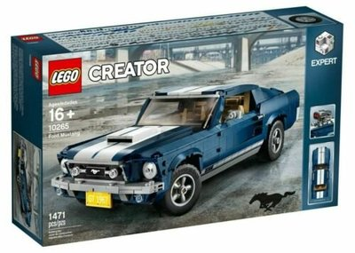 LEGO 樂高 10265 CREATOR系列 Ford Mustang 福特野馬 全新未拆