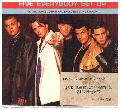 新尚3館/ FIVE :EVERYBODY GET UP 二手品-03211939