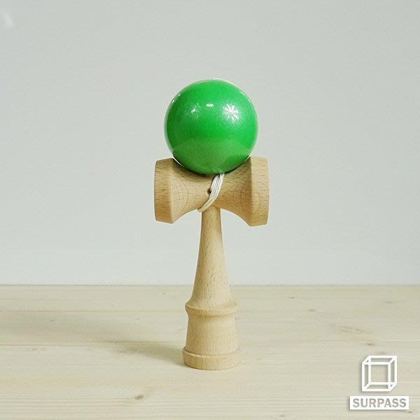 『Surpass』木質劍玉劍球 Pearl 珠光系列 森林綠