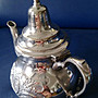 100 土耳其鍍銀壺Vintage Turkish Silverplate Teapo