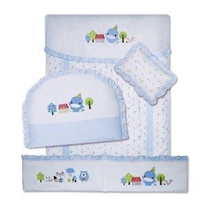 貝比的家-KU KU酷咕鴨-七件式寢具組-典雅森林- (不含床)- 特價3280元 & 店面經營