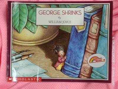 *NO.9 九號書店* GEORGE SHRINKS 英文繪本童書 SCHOLASTIC