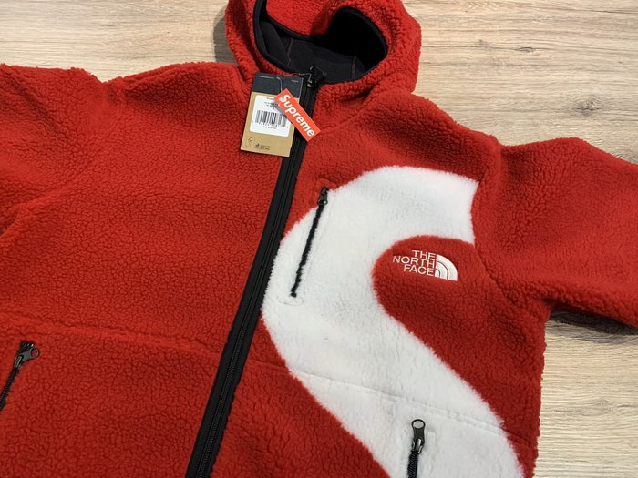 【MASS】Supreme x TNF Hooded Fleece Jacket 搖粒絨 毛毛外套