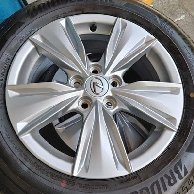 Lexus ux 正原廠17吋鋁圈含胎