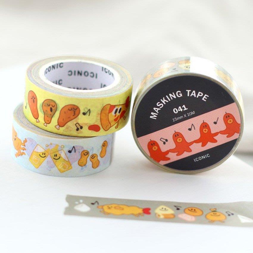 ❅PAVEE❅ 韓國iconic~ Masking Tape 寧靜生活 裝飾和紙膠帶~ enjoy