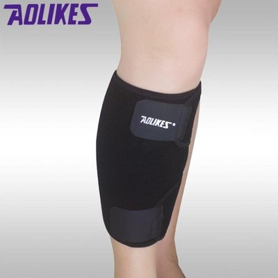AOLIKES 雙重加壓護小腿 可調護腿 透氣吸汗 A-7966
