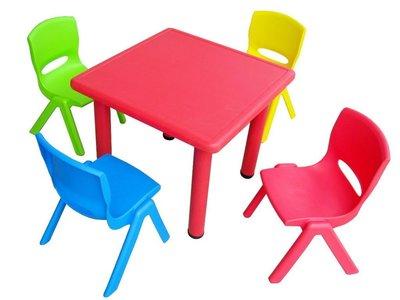 可承重100kg 塑膠兒童椅(另售1桌 2椅 1490元) 兒童桌 幼稚園椅 幼兒椅 安全坐椅 小椅子 椅凳 塑膠椅