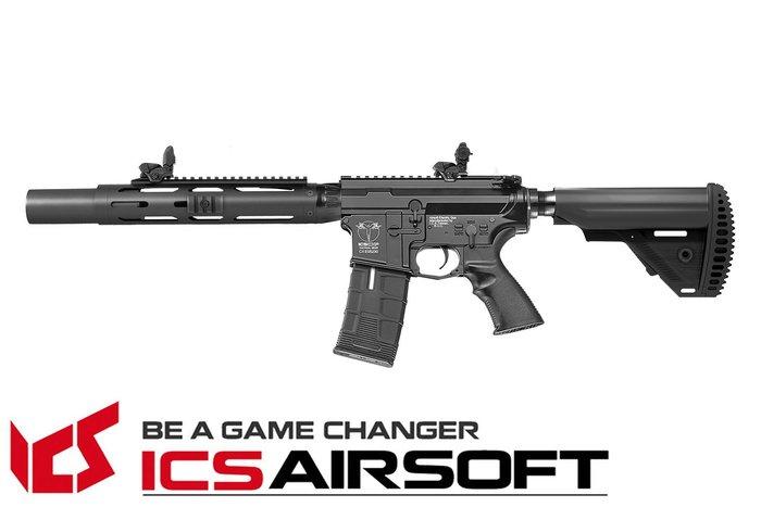 【翔準軍品AOG】ICS CXP-HOG 圓管護木 SD(黑)S1托 EBB Keymod M-Lok 全金屬 生存遊戲