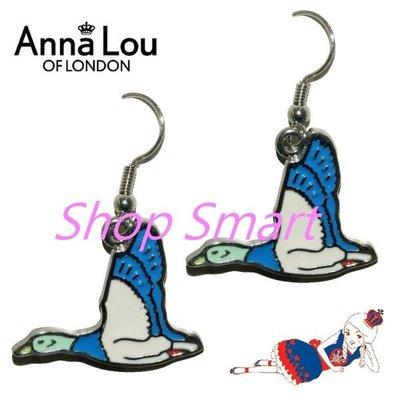 Anna Lou Of London 台北ShopSmart直營店 倫敦品牌 British Geese英國藍雁鴨耳環