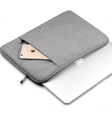 【24小時急速出貨】高級防震筆電保護包_MacBook Air /一般筆電適用 15.6吋 現貨 灰色