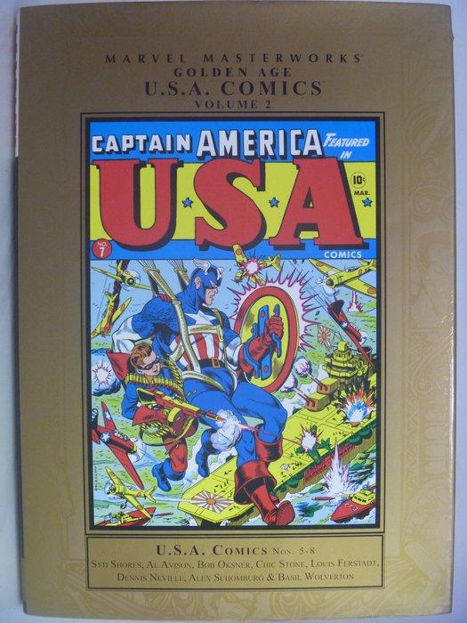 月界】Marvel Masterworks:Golden Age USA Comics 2_漫威美國隊長等〖漫畫〗AGQ