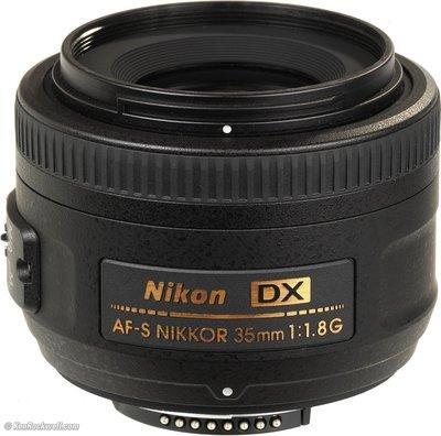 【eWhat億華】Nikon AF-S DX NIKKOR 35mm F1.8 G 人像優質鏡 公司貨 現貨 【4】
