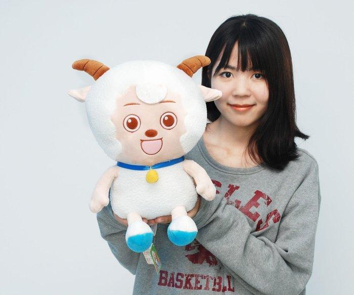娃娃夢幻樂園~可愛喜羊羊娃娃~高35公分~正版~喜羊羊玩偶~生日禮物~全省配送