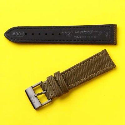 百年靈(高磅 原單)尼龍錶帶