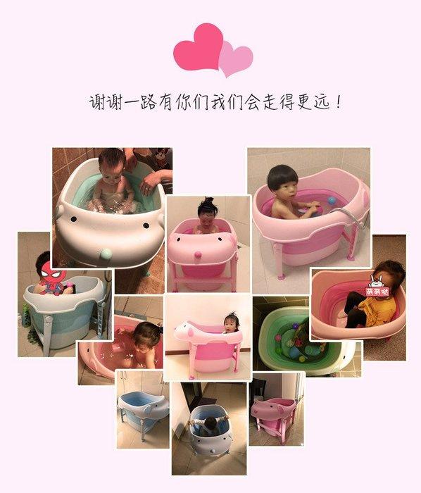 ☆║♥愷心小舖♥║☆狗狗造型 可折疊浴盆 兒童 泡澡 戲水 玩水 多功能