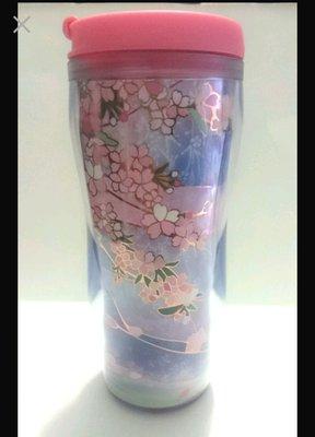 agnes b.舖 清倉 全新 星巴客 粉紅 櫻花 隨行杯 塑膠 保溫瓶 保溫杯 運動水壺 無原來盒子