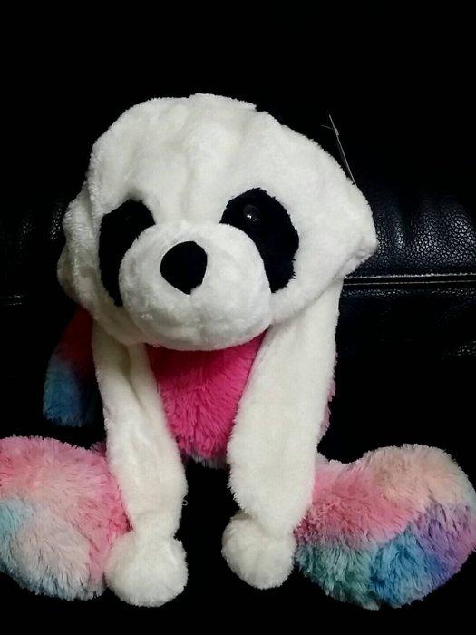 (現貨)今年最夯 熊貓 附耳帽/可愛毛茸.動物帽.造型帽.表演帽