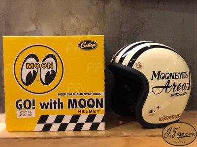 台北喆凡 moon eyes 復古 4/3安全帽 vespa 凱旋 偉士 w800 t120 cuxi mooneyes