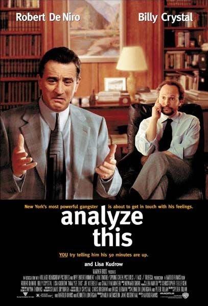 老大靠邊閃-Analyze This (1999)原版電影海報