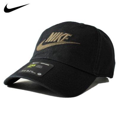*Mars* *超搶手 Nike Swoosh Heritage 86 Futura 復古 老帽 黑 墨綠字
