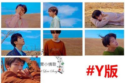 【首爾小情歌】BTS LOVE YOURSELF轉'TEAR'  團體款 透明磨砂小卡 小卡組 小卡片 應援#Y版