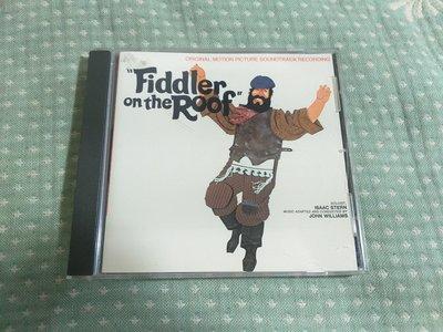 格里菲樂園 ~ CD Fiddler on the Roof  屋頂上的提琴手 電影原聲帶