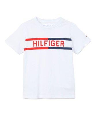 MIABABY 美國童裝 Tommy Hilfiger 小男童白色logo短T 5 現貨