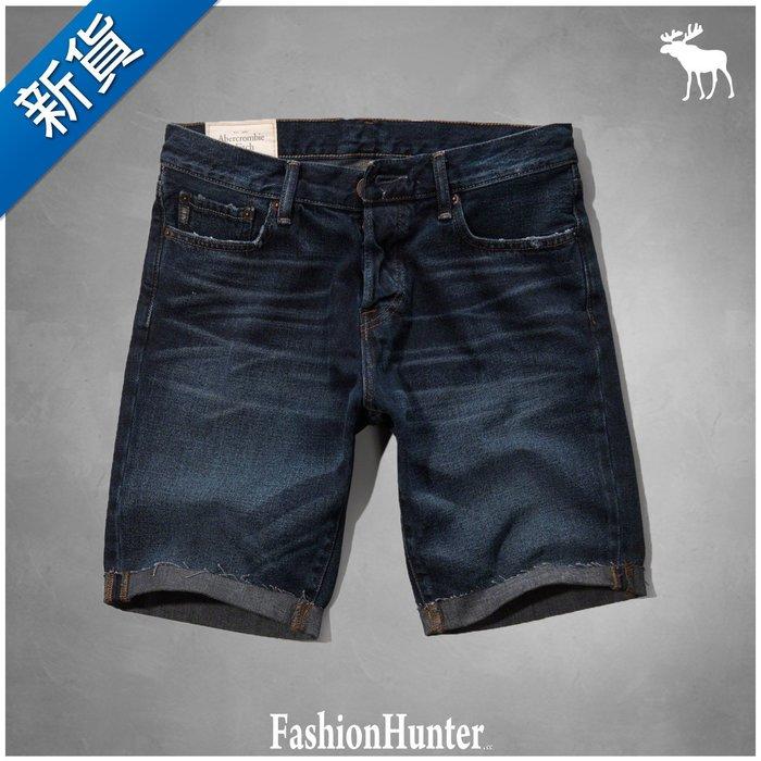 新貨【FH.cc】牛仔短褲 A&F CLASSIC FIT DENIM SHORTS 深刷色 HCO