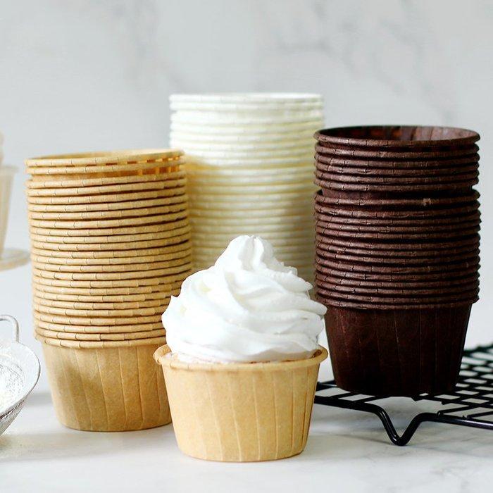 Amy烘焙網:(30入)歐美進口高品質食品級耐高溫圓形卷口杯/不需模具各大蛋糕點選用