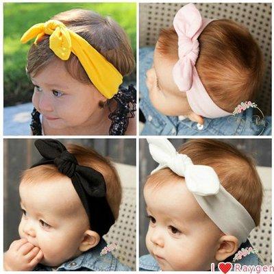 髮帶 HH婦幼館 親子款 寶寶兔耳朵打結髮帶嬰兒蝴蝶結頭飾幼兒頭帶發箍【2Z094Y128】