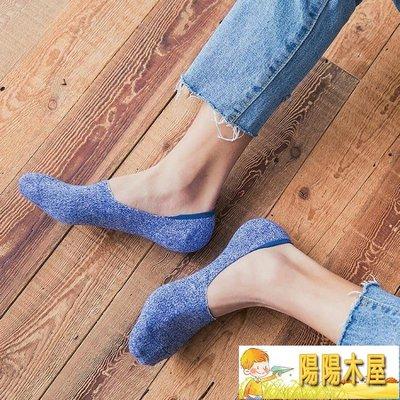 襪子男士船襪夏季純棉薄款短襪低幫淺口防臭矽膠防滑隱形襪男夏潮【陽陽木屋】
