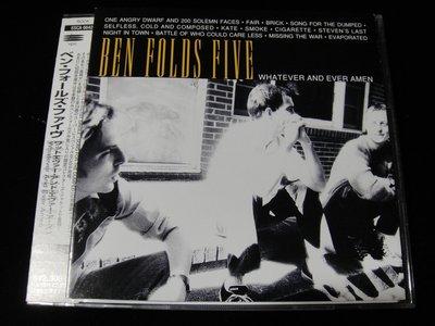 【198樂坊】Ben Folds Five - WHATEVER AND EVER AMEN(Fair..日版)CL