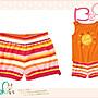 【B& G童裝】正品美國進口Crazy8 Stripe Knit Short 彩色條紋短褲18-24mos,2,3,4yrs