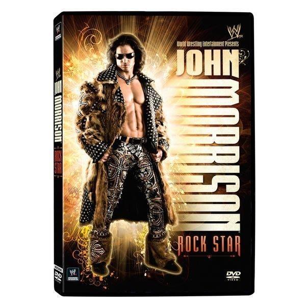 ☆阿Su倉庫☆WWE摔角 John Morrison- Rock Star DVD JOMO精選特輯 熱賣特價中