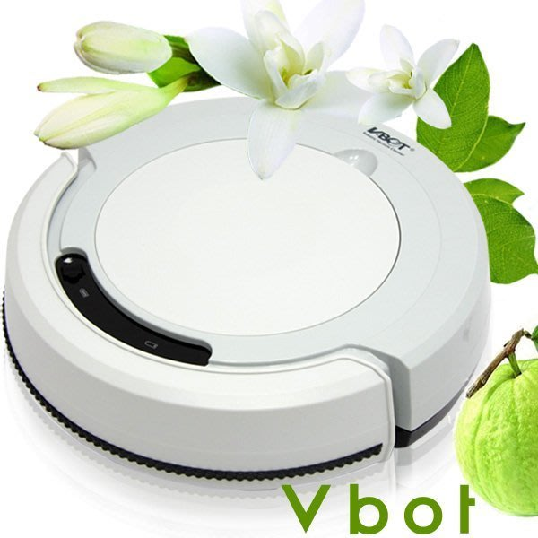 【小花百貨】Vbot M270 智慧型番石榴葉香氛掃地機器人(掃+擦+吸)公主機 (灰) ~免運費