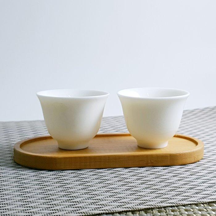 【茶嶺古道】孟宗竹 橢圓型 長方型 竹杯墊 / 竹製 杯托 奉茶 雙杯托 茶藝 茶具用品 功夫茶道具