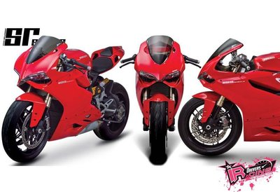 ♚賽車手的試衣間♚ Zero Gravity® Ducati 1199 Panigale 12-14 SR款 風鏡