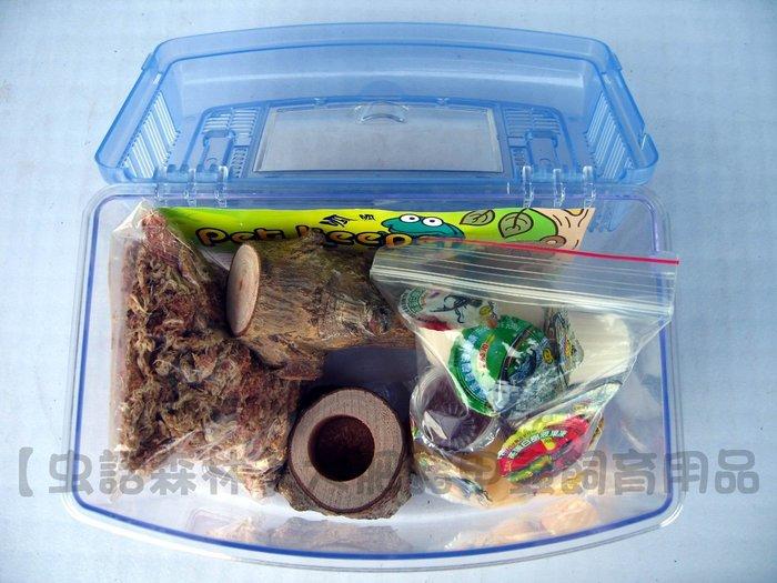 【虫話森林】套裝-兜蟲.金龜.獨角仙成蟲幼蟲繁殖組M-C(進階級-強力特製土)甲蟲、昆蟲