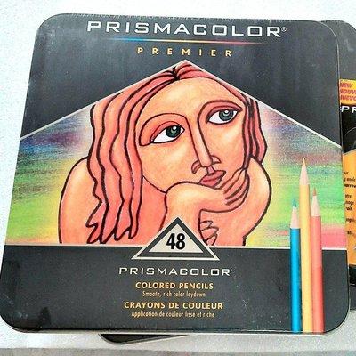 現貨當天出貨  prismacolor 頂級油性 色鉛筆 48色